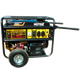 Генератор сварочный HUTER DY6500LX с колесами и аккумулятором